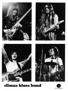 Old photo of Climax Blues Band from 1974