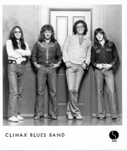 Old photo of Climax Blues Band from 1975