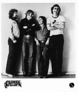 Old photo of Climax Blues Band in 1978