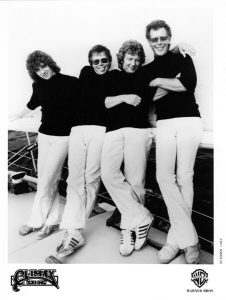 Old photo of Climax Blues Band in 1980