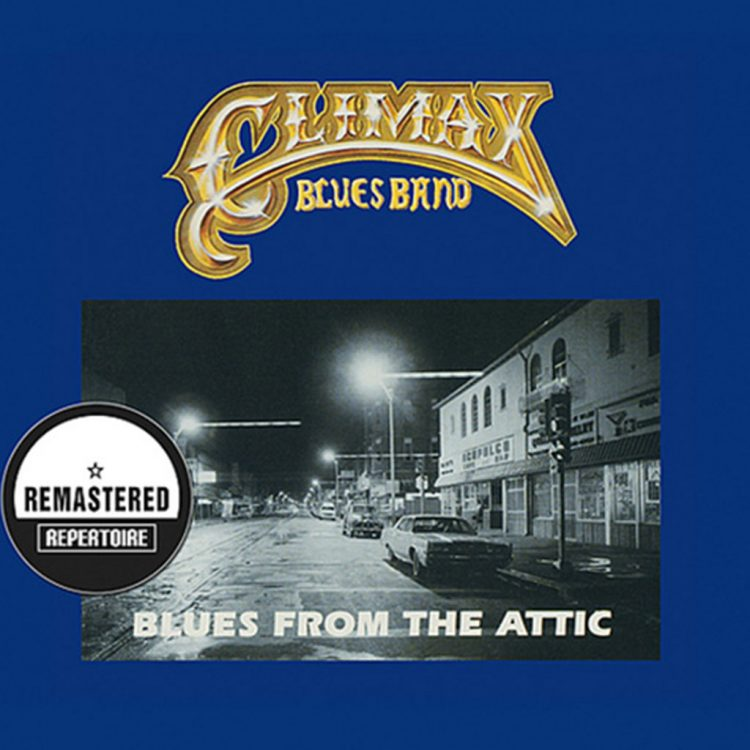 Climax Blues Band Blues from the Attic album cover with old American street scene