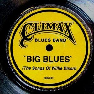 Climax Blues Band Big Blues album cover