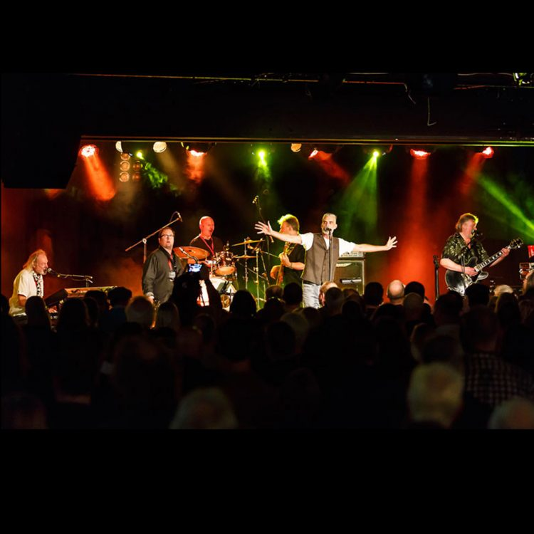Climax Blues Band performing live 2016