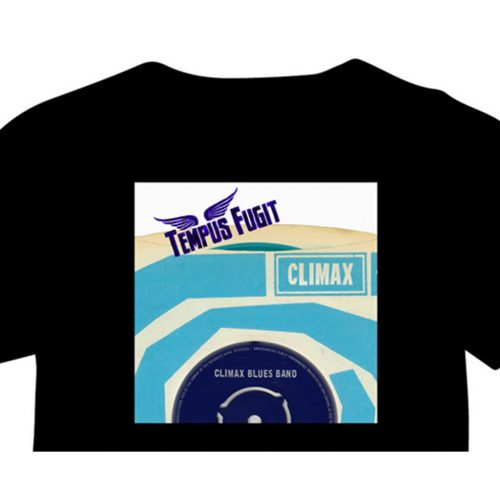 Climax Blues Band Tempus Fugit EP dsign T-shirt