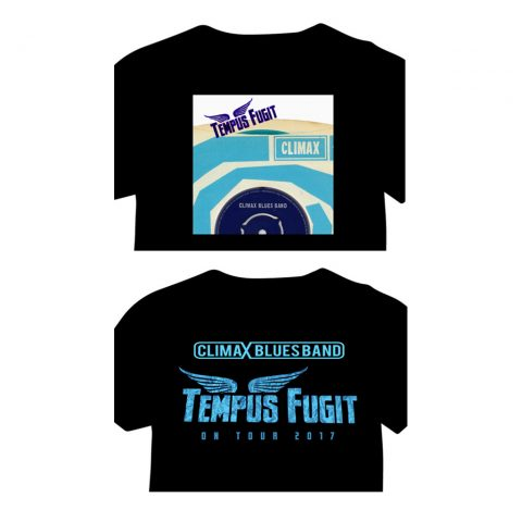 Climax Blues Band Tempus Fugiut Tour and EP T-shirts