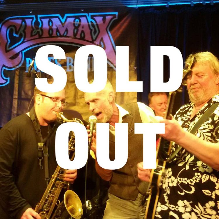Nantwich Blues Festival sold out notice