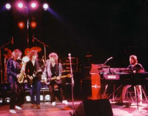 Climax Blues Band in 1982 live on stage