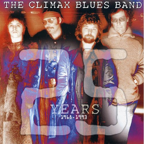 Climax Blues Band 25 years album cover