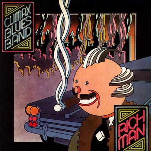 Climax Blues Band Rich Man album cover