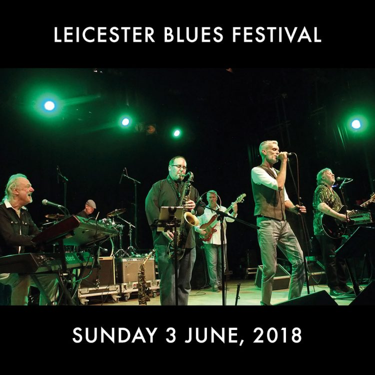 Leicester Blues Festival Climax Blues Band perform live with Graham Dee on vocals and 'Beebe' Aldridge on sax