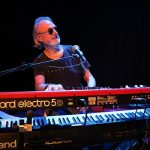 George Glover playing Roland and Nord keyboards
