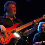 Neil Simpson plays Laklan bass live with Climax Blues Band 2019