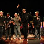 Climax Blues Band smile and wave to the audience on their 2019 European tour
