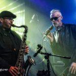 Chris Aldridge and Graham Dee at HRH Blues Festival Sheffield UK 2019