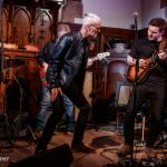 Dan Machin on guitar with Climax Blues Band live at Lichfield Guild Hall September 2021