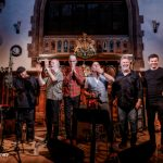 Climax Blues Band group photo at Lichfield Guild Hall September 2021