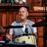 Roy Adams on drums with Climax Blues Band live at Lichfield Guild Hall September 2021