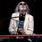 George Glover on keyboards with Climax Blues Band live at Lichfield Guild Hall September 2021